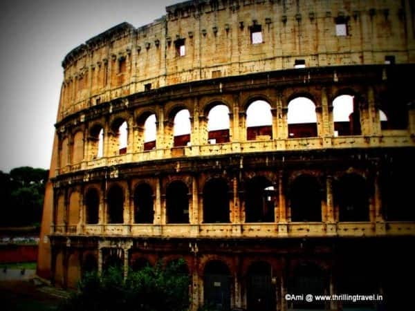 Travel Cafe - A virtual tour of the Colosseum
