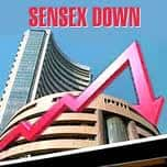 Sensex ends lower; banks, capital goods, realty down 1%