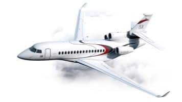 Dassault's new business jet: The Falcon 8X