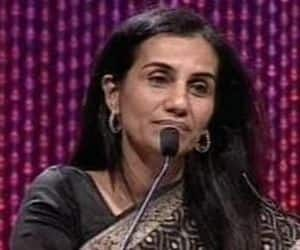 """#59  Chanda Kochhar  Managing Director and CEO, ICICI Bank  Age: 50  Forbes says. """"Chanda Kochhar is the first woman to run ICICI Bank, the second-largest lender in India.In 2009, she became its youngest CEO at age 47. In addition to ICICI's board, she is a member of the Prime Minister's Council on Trade and Industry, the US-India CEO Forum, and the Indian School of Business and the Indian Council for Research on International Economic Relations boards."""""""