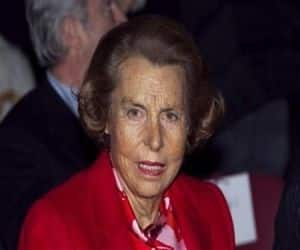 Liliane Bettencourt & family