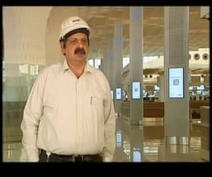 """Chanderbhan Manwani, Project Head- Senior Vice President GVK said, """"This airport has set its own benchmark. People will measure other airports in comparison with Mumbai now."""""""
