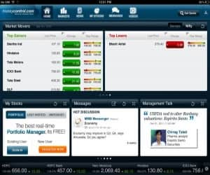 moneycontrol app for iPad is your gateway to real time stock quotes, Indian and Global equity benchmarks. You can track your investment portfolio, watch live TV and get in-depth coverage & analysis of financial markets, economy, business and much more.