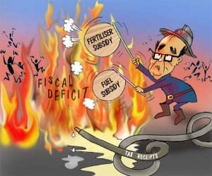 Fanning the fire of fiscal deficit with subsidies