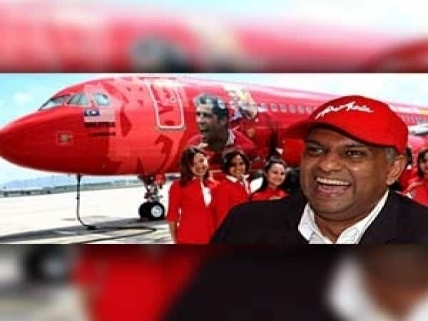Tony Fernandes bought AirAsia for one ringgit in 2001