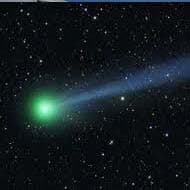 Comet visible from Earth if it survives sun's heat, gravity