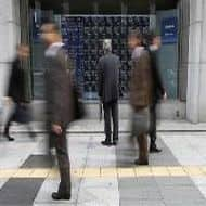 Nikkei ends flat after hitting near 5-year high