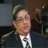 India Cements falls 6% as CBI chargesheet names Srinivasan