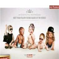 Royal Baby is here & also good old British ads