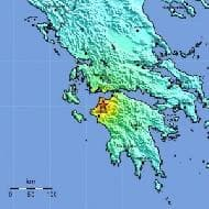 Magnitude 6.1 earthquake rocks Greece