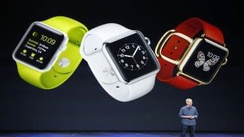 Apple watch sees record sales to consumers in holiday week: Cook