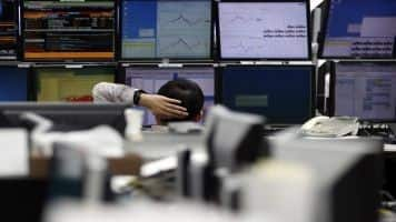 Asian equities widen losses after flash China PMI