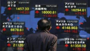 Asian shares slip from 2-mth high, oil regroups after slide