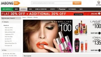 Jabong records 50% growth in net revenues in October