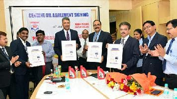 Mahindra and HPCL develop Miles+ engine oil for Centuro