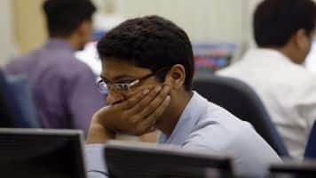 Sensex snaps 3-day gains, down 134 pts ahead of RBI policy