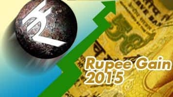 Rupee trims gains vs dollar, down 2 paise
