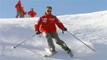 Michael Schumacher 'blinks' after a month in coma: reports