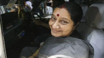 Helped Lalit Modi's wife on humanitarian grounds: Sushma