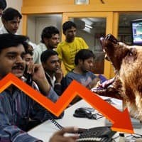 Profit booking drags Sensex 285 pts, Nifty below 7800