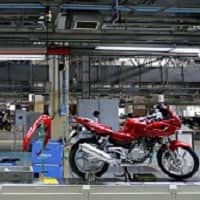 Bajaj Auto motorcycle sales up 2% in April