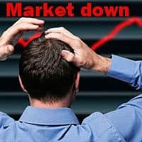 Crash in Sensex, Nifty continues; rupee tests $68, banks plunge