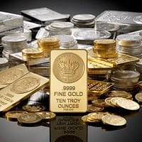 Gold, silver fall on muted demand, global cues