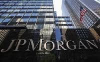 JP Morgan trading revenues fall causing weaker profits