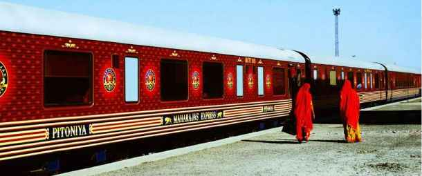 Get a taste of royalty on Indian Rail!