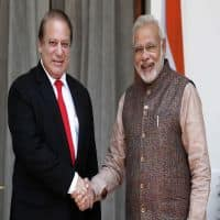 PM Modi meets Nawaz Sharif, conveys concerns on terrorism