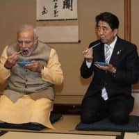 Japan, India vow to boost strategic ties during summit