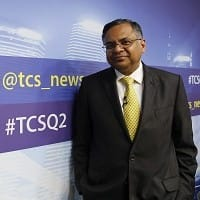 TCS's Chandra hints 2% dip in FY16 constant currency growth