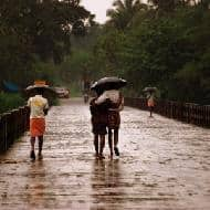 Pre-monsoon showers occur in Kerala and NE; rain continues in J&K