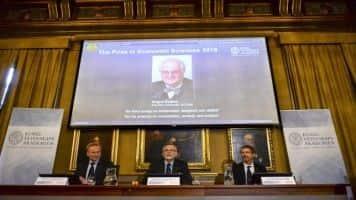 Angus Deaton wins 2015 Nobel Prize for Economics