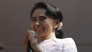 Suu Kyi says India an inspiration,hails IndoMyanmar friendship