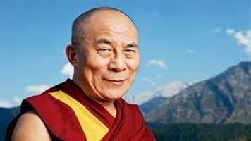 Curtail use of fossil fuel to fight global warming: Dalai Lama
