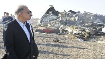 Crashed Russian jet not struck from outside: Investigator