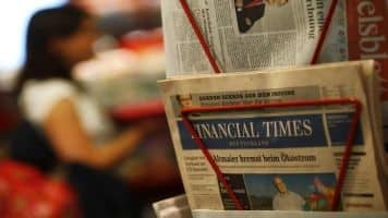 Pearson to announce plans to sell the Financial Times