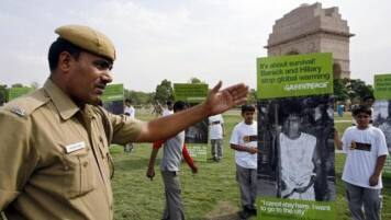 India orders Greenpeace to shut down over fraud