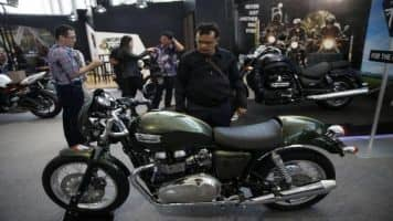 Triumph aims to sell 2,500 premium bikes a year in India