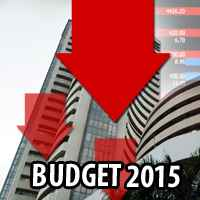 Sensex down 260pts, Nifty below 8700 on Rail Budget, expiry