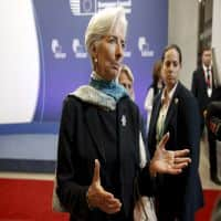 IMF boss Christine Lagarde says will run for second mandate