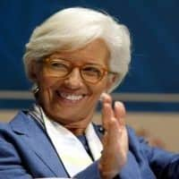 Darling of Davos, Christine Lagarde has second IMF term sewn up