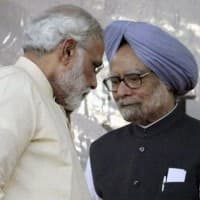 Manmohan dubs note ban legalised plunder as PM watches on in RS