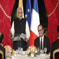 Modi to meet Obama, Francois Hollande, David Cameron today