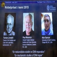 DNA scientists win Nobel Prize for Chemistry