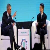 Shunning protocol, Obama interviews Alibaba founder Jack Ma