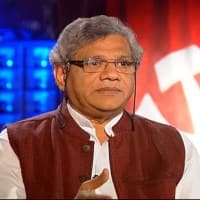 Sitaram Yechury takes a swipe at BJP over 'achhe din' slogan