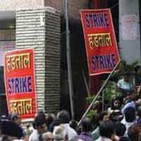 15 cr trade union members hold one-day nationwide strike