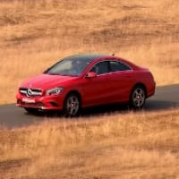 Here's a look at Mercedes Benz CLA-Class